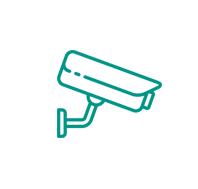 Czuj się bezpiecznie! Sala jest wyposażona w sprzęt monitorujący zarówno wewnątrz, jak i zewnątrz obiektu.